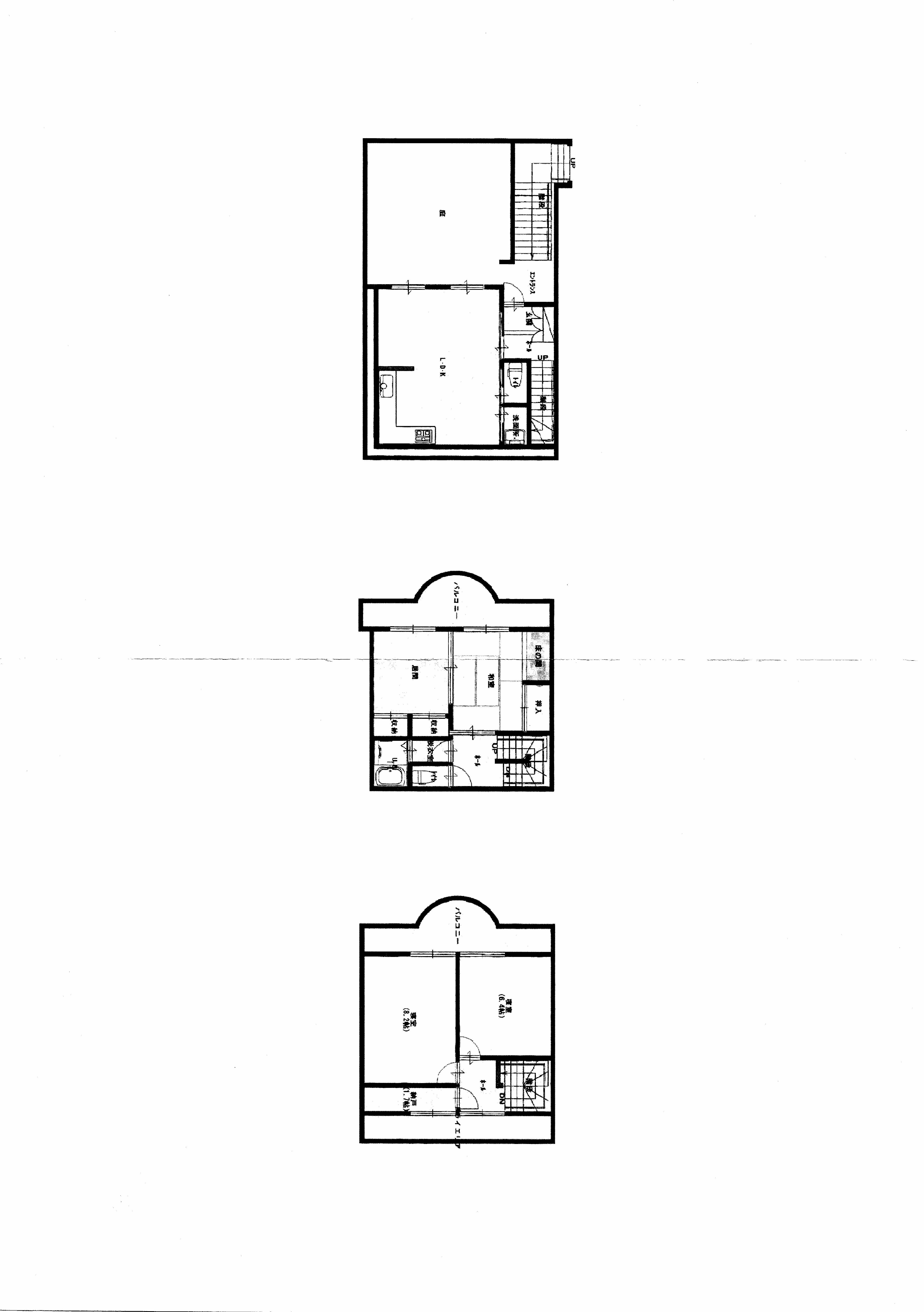 静岡県熱海市 西山ガーデン 4LDK 109.46㎡ タウンハウス3階建 1,000万円